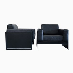 Korium KM 3/1 Armchairs by Tito Agnoli for Matteo Grassi, Set of 2