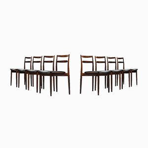Model 61 Dining Chairs by Harry Østergaard, Set of 8