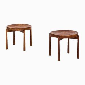 Tavolino in teak di Jens Quistgaard per Nissen, anni '60