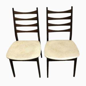 Stühle mit Skai Bezügen im Skandinavischen Stil, 2er Set