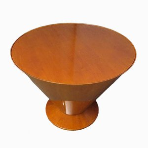 Art Deco Round Maple Card and Tea Table, 1920