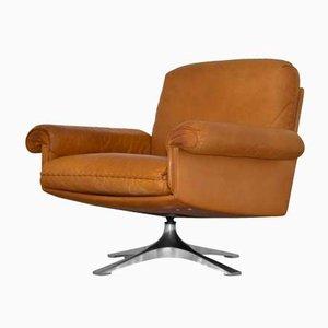 Chaise Club DS 31 Pivotante Vintage de De Sede