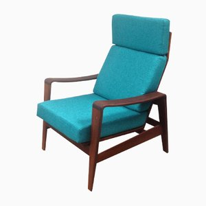Mid-Century Teak Easy Chair by Arne Wahl Iversen for Komfort