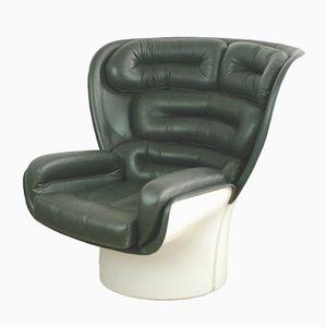 Italian Elda Chair by Joe Colombo for Comfort Italy, 1960s