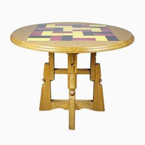 Verstellbarer Französischer Tisch von Guillerme & Chambron, 1950er