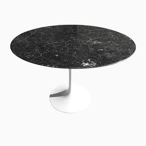 Mid-Century Marmor Esstisch von Eero Saarinen für Knoll International