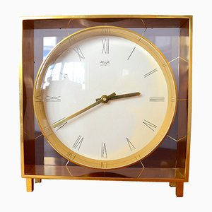 German Table Clock by Heinrich Möller for Kienzle, 1960s