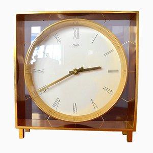 Reloj de mesa alemán de Heinrich Möller para Kienzle, años 60