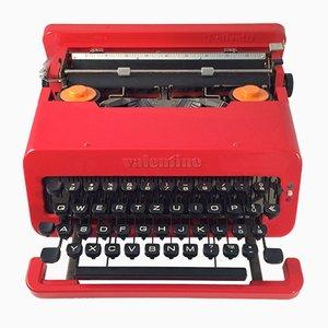 Valentine Schreibmaschine von Ettore Sottsass für Olivetti
