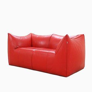 Italienisches Le Bambole Sofa aus Leder von Mario Bellini für B&B Italia, 1970er