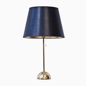 Swedish Brass Table Lamp from Bergboms, 1960s