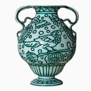 Jarrón de cerámica de Casa dell´Arte, 1922