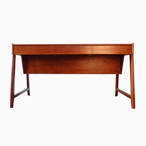 Vintage Mahogany Desk by Clausen and Maerus