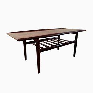 Tavolo da club in palissandro brasiliano di Grete Jalk per Glostrup, anni '60