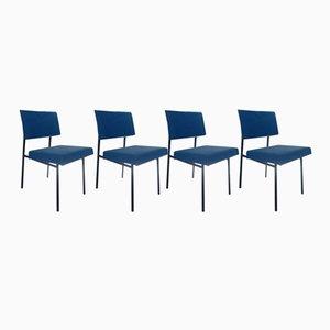 Chaises de Salon par Gèrard Guermonprez, Set de 4