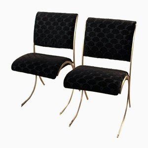 Vintage Dining Chairs from Maison Jansen, Set of 2