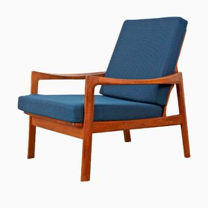 Norwegian Easy Chair by Tove and Edvard Kind-Larsen for Gustav Bahus, 1950s