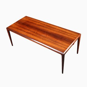 Large Extendable Mid-Century Rosewood Coffee Table by Johannes Andersen for CFC Silkeborg