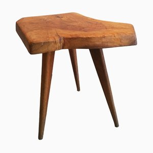 Asymmetrical Wooden Coffee Table