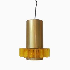 Lámpara colgante Symphony danesa de Claus Bolby para Cebo, años 70