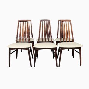Eva Esszimmerstühle von Niels Koefoed, 1960er, 6er Set