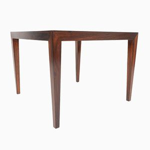 Mid-Century Rosewood Coffee Table by Severin Hansen for Haslev