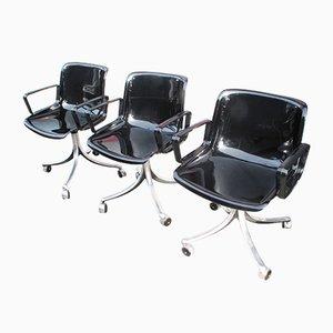Modus 4 Stühle von Osvaldo Borsani, 1973, 3er Set