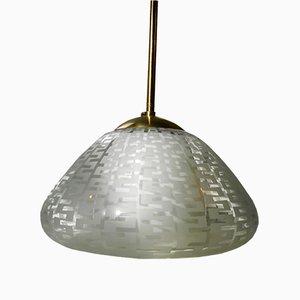 Lampe à Suspension Mid-Century par Wilhelm Wagenfeld pour Peill & Putzler