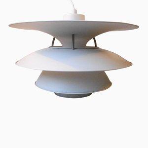Lampe à Suspension PH Charlottenborg Blanche par Poul Henningsen pour Louis Poulsen