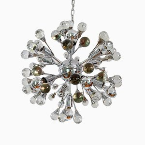 Murano Glass Ball Sputnik Chandelier, 1970s