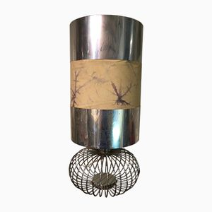 Vintage Tischlampe aus Stahl