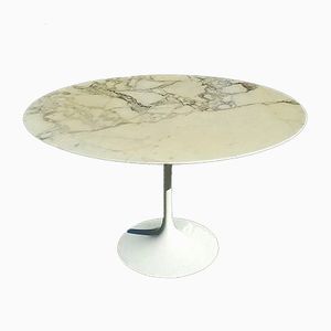 Marble Top Tulip Table by Eero Saarinen for Knoll, 1950s
