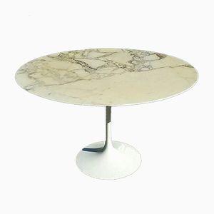 Tisch mit Marmorplatte von Eero Saarinen für Knoll, 1950er