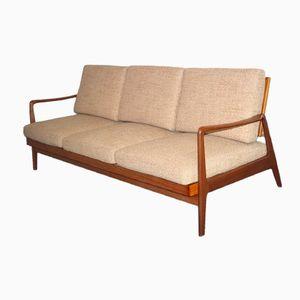Dänisches Mid-Century 3-Sitzer Sofa & Schlafsofa