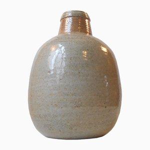 Große Dänische Steingut Vase von Niels Kahler für HAK, 1970er
