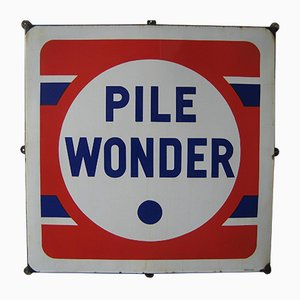 Industrial Pile Wonder Sign