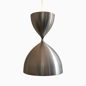 Aluminium Vega Pendant Light by Jo Hammerborg for Fog & Mørup
