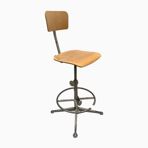 Industrial Architect's Chair by Friso Kramer for Ahrend de Cirkel, 1950s