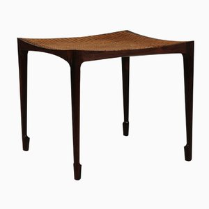 Danish Rosewood Stool by Bernt Petersen for Henrik Wørts, 1960s