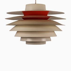 Danish Verona Pendant Light by Svend Middelboe for Nordisk Solar, 1960s