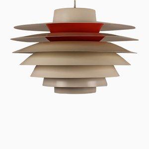 Lampe à Suspension Verona par Svend Middelboe pour Nordisk Solar, Danemark, 1960s