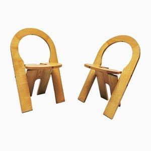 Französische TS Stühle von Roger Tallon für Sentou, 1978, 2er Set