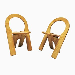 French TS Chairs by Roger Tallon for Sentou, 1978, Set of 2
