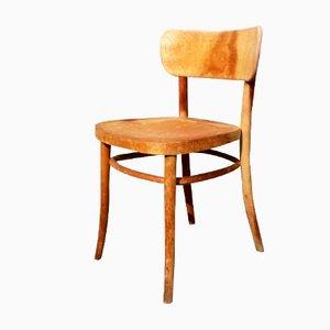 Sedia modello 234 in legno di Magnus Stephensen per Fritz Hansen, anni '40