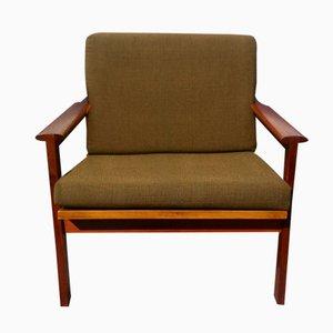 Chaise Nr. 4 Capella par Illum Wikkelso pour N. Eilersen, 1960s