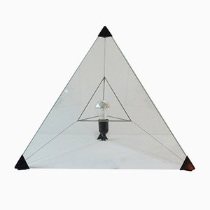 Vintage Tetrahedron Table Lamp by Frans van Nieuwenborg & Martijn Wegman for Indoor