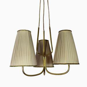 Lampe à Suspension à Trois Lampes, Autriche, 1930s