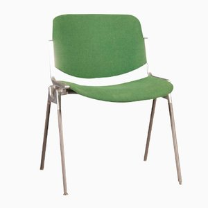 Green Stackable Chair by Giancarlo Piretti for Castelli, 1955