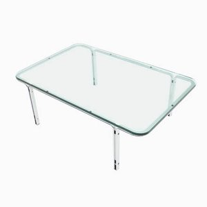 Glass Coffee Table by Horst Brüning for Kill International, 1960s