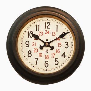 Bauhaus Workshop Wall Clock from Siemens Halske, 1930s